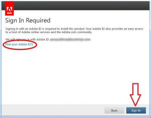 Activating Adobe Acrobat in a non-persistent environment
